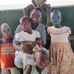 Schminck en kerst Ghana 1