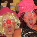 Clownen met tante Riekie